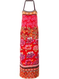 платье с цветочным узором  Kenzo Vintage