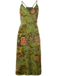платье с цветочным принтом  Kenzo Vintage