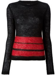 свитер с полосками Jean Paul Gaultier Vintage