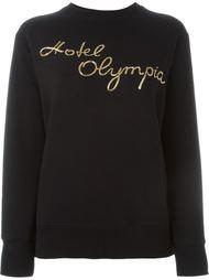 толстовка с вышивкой 'Hotel Olympia' Olympia Le-Tan