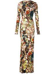 платье с принтом бабочек Jean Paul Gaultier Vintage