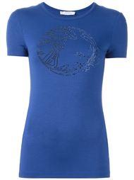 футболка с заклепками 'Medusa' Versace Collection