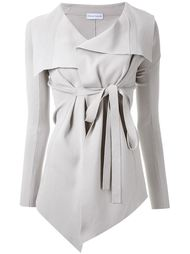 belted draped front jacket Scanlan Theodore