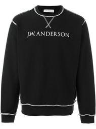 толстовка с принтом логотипа J.W.Anderson