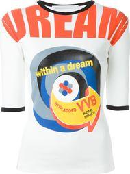 """футболка с принтом """"dream"""" Victoria Victoria Beckham"""
