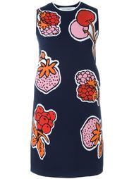 платье-шифт с ягодами Victoria Victoria Beckham