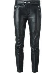 байкерские брюки Saint Laurent