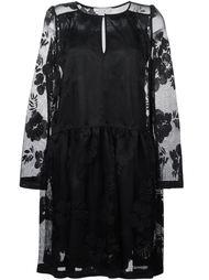 платье с вышивкой  See By Chloé