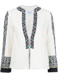 приталенный пиджак с вышивкой Derek Lam 10 Crosby