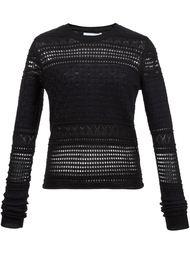 перфорированный свитер  Derek Lam 10 Crosby