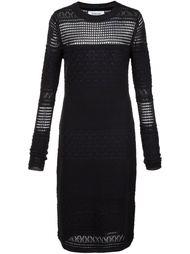вязаное перфорированное платье  Derek Lam 10 Crosby
