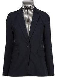 пиджак с завязками на горловине Veronica Beard