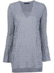 блузка в клетку  Jenni Kayne