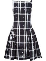 платье в клетку с плиссированной юбкой Vivienne Westwood