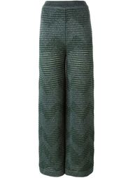 zigzag knitted pants M Missoni
