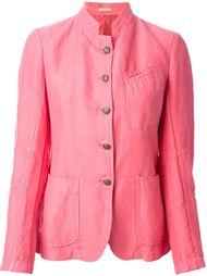пиджак с воротником-мандарином  Massimo Alba
