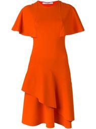 платье с оборками  Givenchy