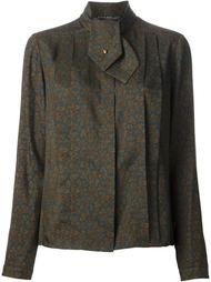 "блузка в принт ""турецкий огурец! Chanel Vintage"