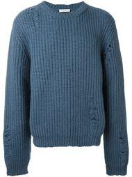 вязаный свитер  J.W.Anderson
