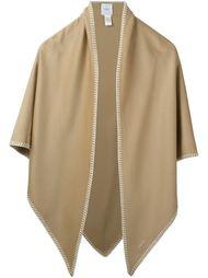 платок с контрастной окантовкой Agnona