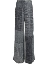 широкие брюки в клетку Jason Wu