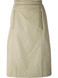 стеганая юбка  Céline Vintage