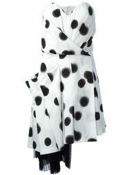 платье без бретелей с узором в размытый горох Marc By Marc Jacobs