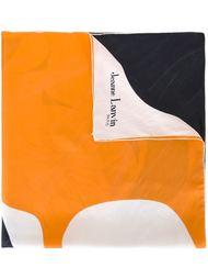 платок в стиле колор-блок  Lanvin Vintage