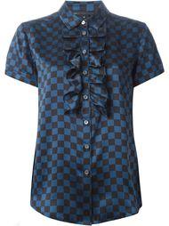 блузка в клетку Marc By Marc Jacobs