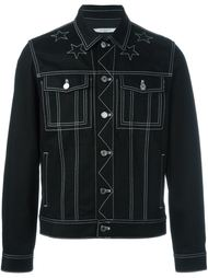 куртка с контрастной окантовкой  Givenchy