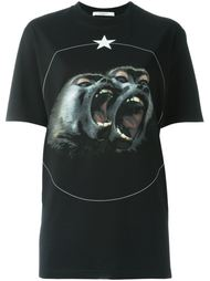 "футболка ""Monkey Brothers"" Givenchy"