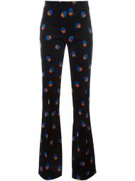 расклешенные брюки с клубниками Victoria Victoria Beckham