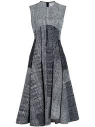 платье без рукавов в клетку Jason Wu