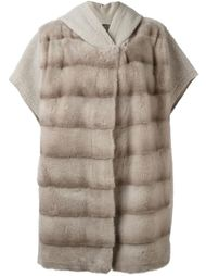 пальто с капюшоном  Liska