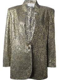 жаккардовый костюм с юбкой Gianfranco Ferre Vintage