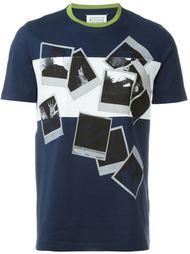 футболка с принтом полароидных фото Maison Margiela