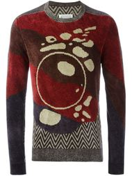 свитер с узором  Maison Margiela