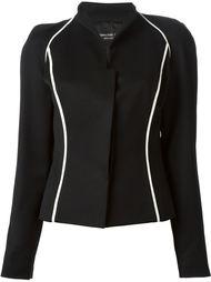 пиджак с контрастной окантовкой  Jean Louis Scherrer Vintage