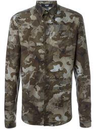 рубашка с камуфляжным принтом  Versus