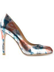 туфли с цветочным принтом Marc By Marc Jacobs