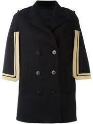 пальто-накидка с контрастной окантовкой Neil Barrett