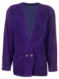 двубортный пиджак Versace Vintage