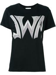футболка с принтом логотипа  J.W.Anderson