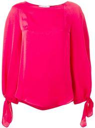 блузка с рукавами-пуфф Carven
