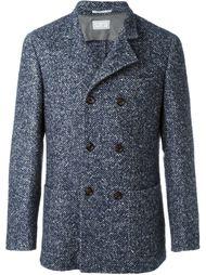 короткое двубортное пальто Brunello Cucinelli