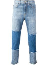 лоскутные джинсы  Love Moschino