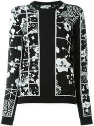 свитер 'Tanami Flower' Kenzo
