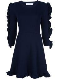 платье с оборками  Victoria Victoria Beckham