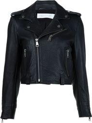 укороченная байкерская куртка Victoria Victoria Beckham