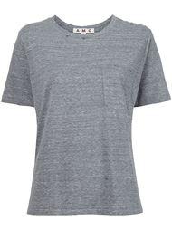 футболка с потертой отделкой Amo